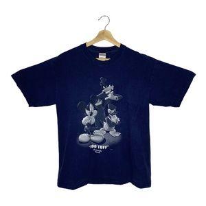 """Disney Mickey and Friends """"Too Tuff"""" T Shirt L"""